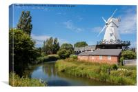 Gibbett Mill, Rye, Sussex, South East England, GB,, Canvas Print