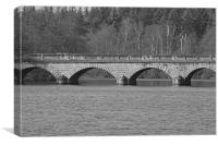 Bridge on Virginia, Canvas Print