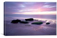 Hunstanton Sunset Norfolk, Canvas Print