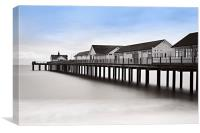 The Pier at Southwold, Canvas Print
