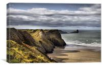 Worms Head, Canvas Print