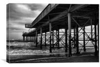 Torquay Pier, Canvas Print