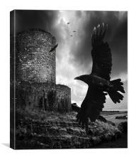 Dark Bastion, Canvas Print