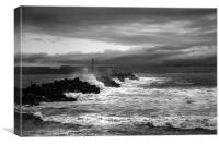 Building Storm, Canvas Print