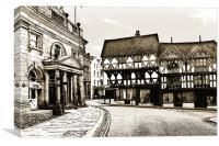 Ludlow, Canvas Print