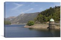 Ellan Vally Dam, Canvas Print