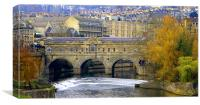 Pulteney Bridge, Canvas Print