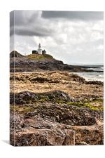 Mumbles Lighthouse, Canvas Print