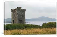 Irish Watch Tower, Canvas Print