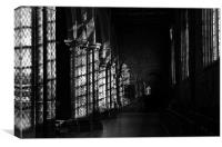 Corridor St Davids Cathedral, Canvas Print