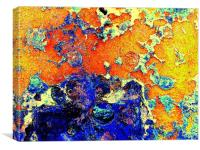 Intense Rust, Canvas Print