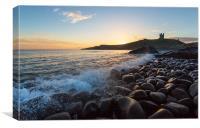 Northumberland Sunrise, Canvas Print