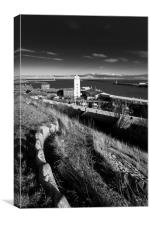 North Shields - Low Lights, Canvas Print