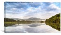 Loch Venachar, The Trossachs. Scotland., Canvas Print