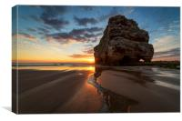 Marsden Rock Sunrise, Canvas Print