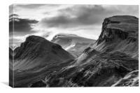 Quiraing, Isle of Skye, Canvas Print