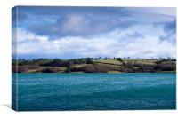 Carsington Water, Canvas Print