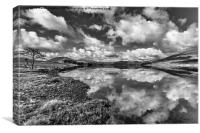 Reflections On Loch Tulla, Canvas Print