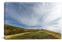 Over the Horizon, Canvas Print