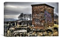 Graffitti, Canvas Print
