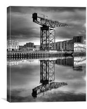 The Crane, Canvas Print