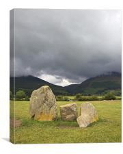 The Stones, Canvas Print
