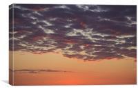 Irish Sunset, Canvas Print