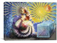Aztec dream, Canvas Print