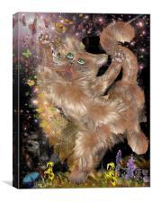 Dream Puss, Canvas Print