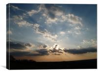 Alright sunbeam!!, Canvas Print