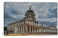 Greenwich Campus, Canvas Print