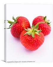 Strawberries, Canvas Print