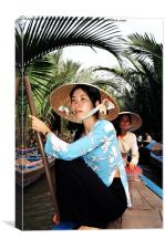 Mekong Delta, Canvas Print