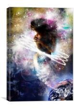 Gaia Genie, Canvas Print
