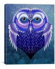 Vector Owl, Canvas Print