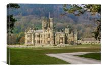 Margam Castle, Canvas Print