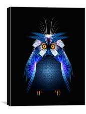 Wise Old Owl, Canvas Print
