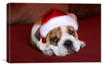 Bully for Santa, Canvas Print