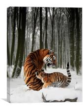 A Winter Tale, Canvas Print