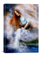 Aquarius, Canvas Print