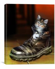 Puss in Boot, Canvas Print