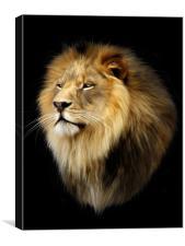 King Aslan, Canvas Print