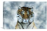 A Couple of Sandwiches Short of a Picnic - Tiger, Canvas Print