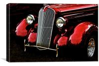 1937 Plymouth Coupe, Canvas Print