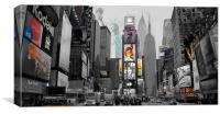 Ny Collage, Canvas Print