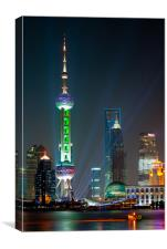 Pearl TV Tower, Canvas Print