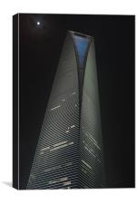 World Financial Center Shanghai, Canvas Print