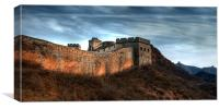 Great wall of China, Canvas Print
