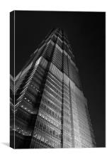 Jin Mao Tower, Canvas Print