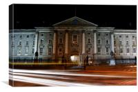 Trinity College in Dublin, Canvas Print